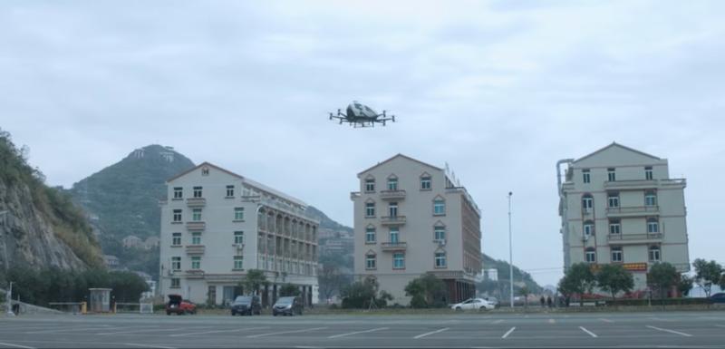 Ehang 獲中國民航局批出全球首個 AAV 物流試運行許可 開展大載重空中物流