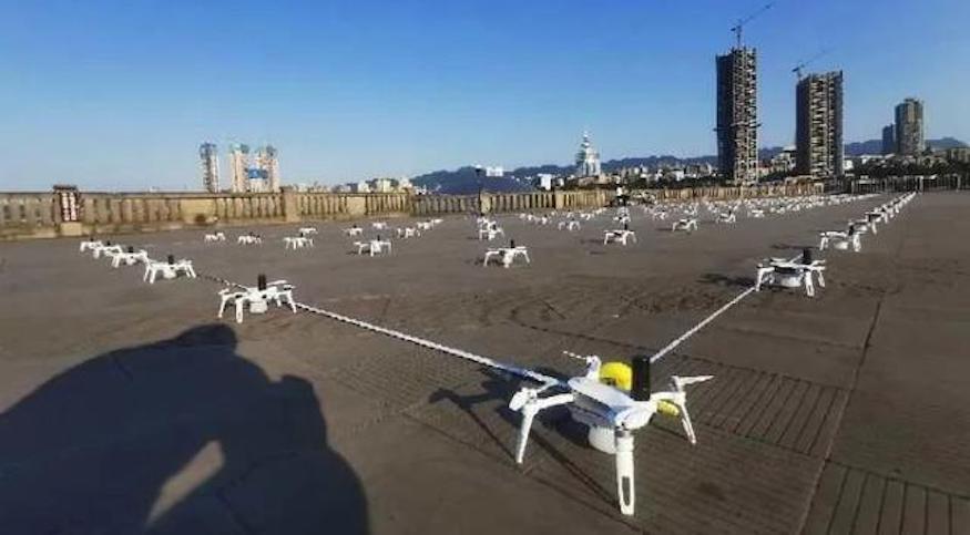 17 架無人機表演時墜毀 競爭對手疑因失競標而報復式干擾