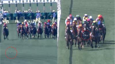 航拍機闖沙田馬場 奔跑馬匹前低飛 馬會報警處理