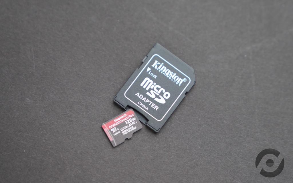 專為 8K 航拍而設 評測 Kingston Canvas React Plus Micro SD 記憶卡