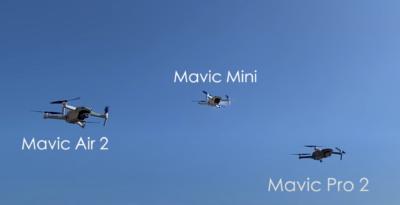 DJI Mavic 系列載重能力大比拼 勝出者竟然不是最貴那一架!