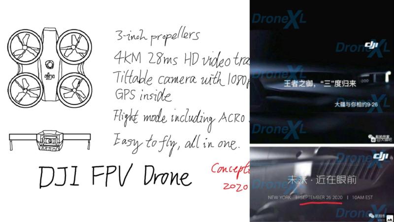 DJI 會推出一體化 FPV 無人機嗎? Mavic 3 九月面世?
