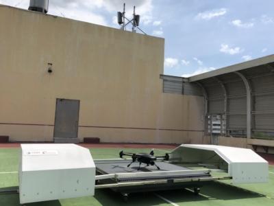 中光電智能機器人攜手中華電信  5G 無人機起飛 即時傳輸 4K 影像