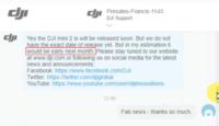 問:DJI Mini 2 什麼時候在英國開賣? DJI Support 答:估計下月初