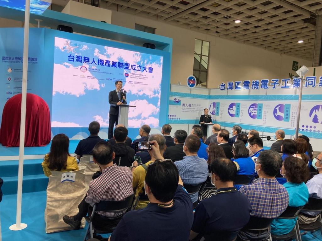 「無人機產業聯盟」啟動 工研院擬年底推出虚實融合無人機競賽軟體