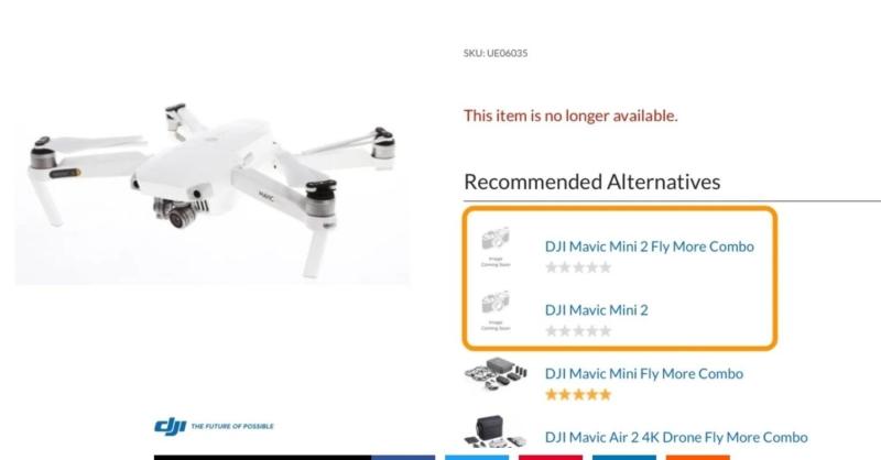 兩個跡象顯示 DJI Mavic Mini 2 快將面世 你準備好掏錢包了嗎?