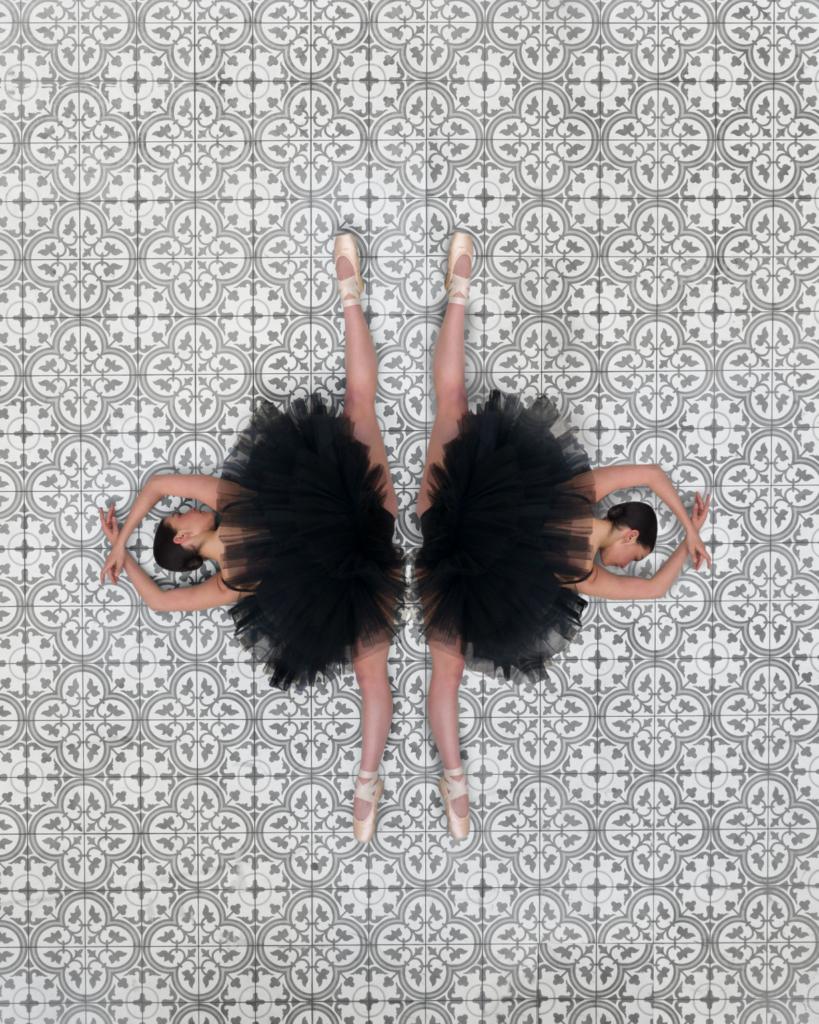 空中視角 呈現不一樣的芭蕾舞