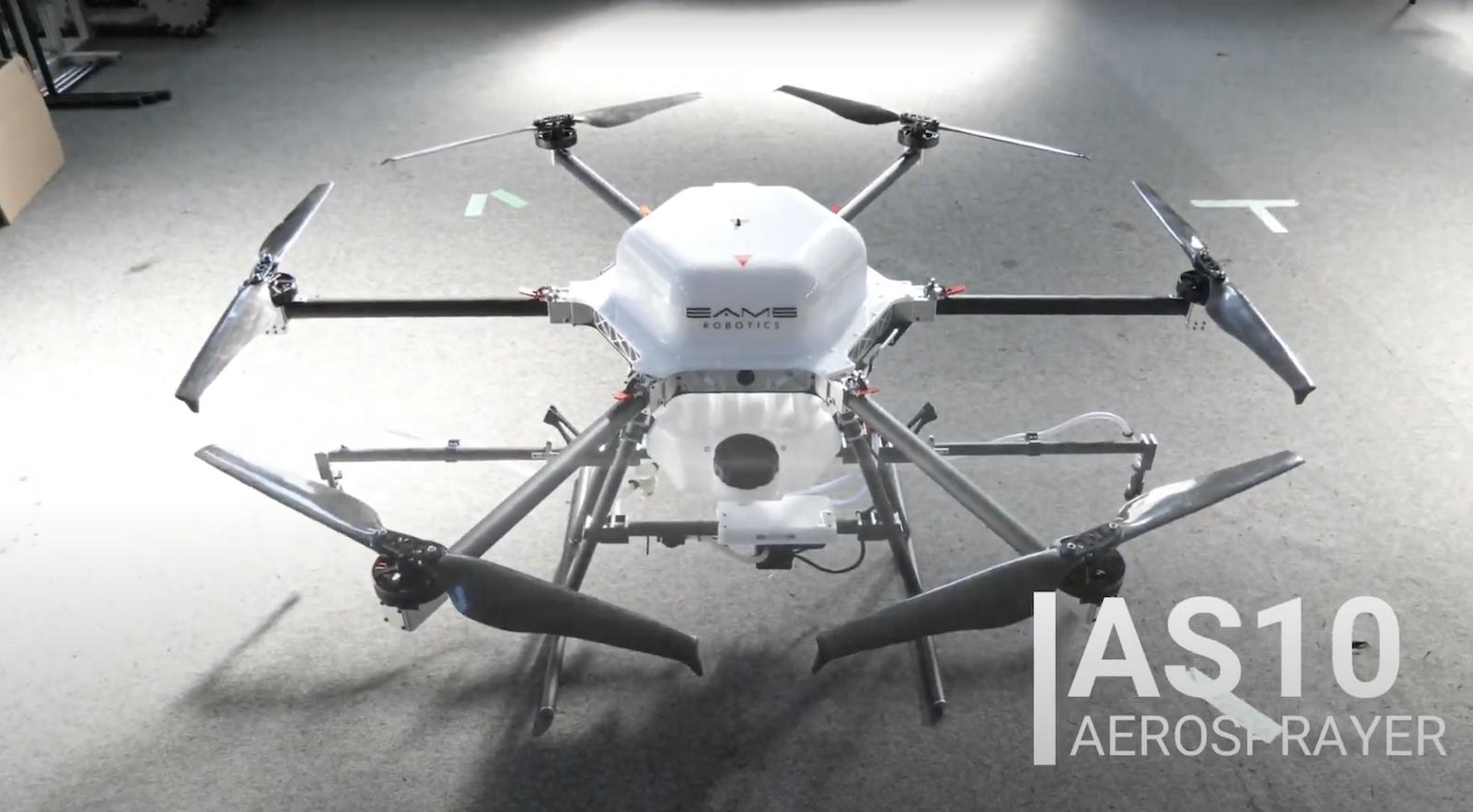 日農業無人機採用 NTRIP 技術 可執行厘米級精細噴灑工作