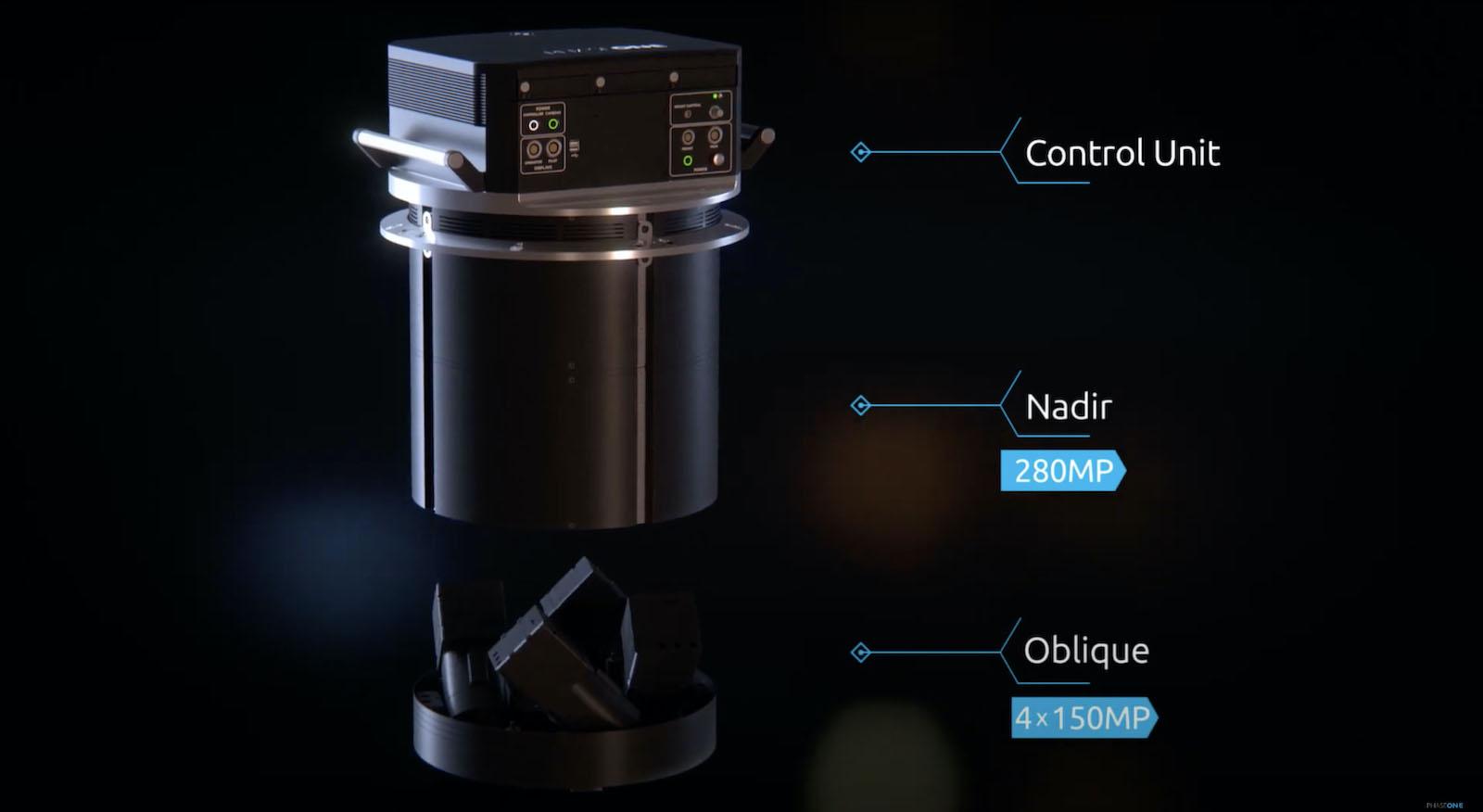高達 2.8 億像素! Phase One 推 航空拍攝系統 PAS 880