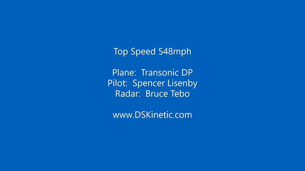遙控模型飛機變動滑翔創新世界紀錄 時速達 548mph