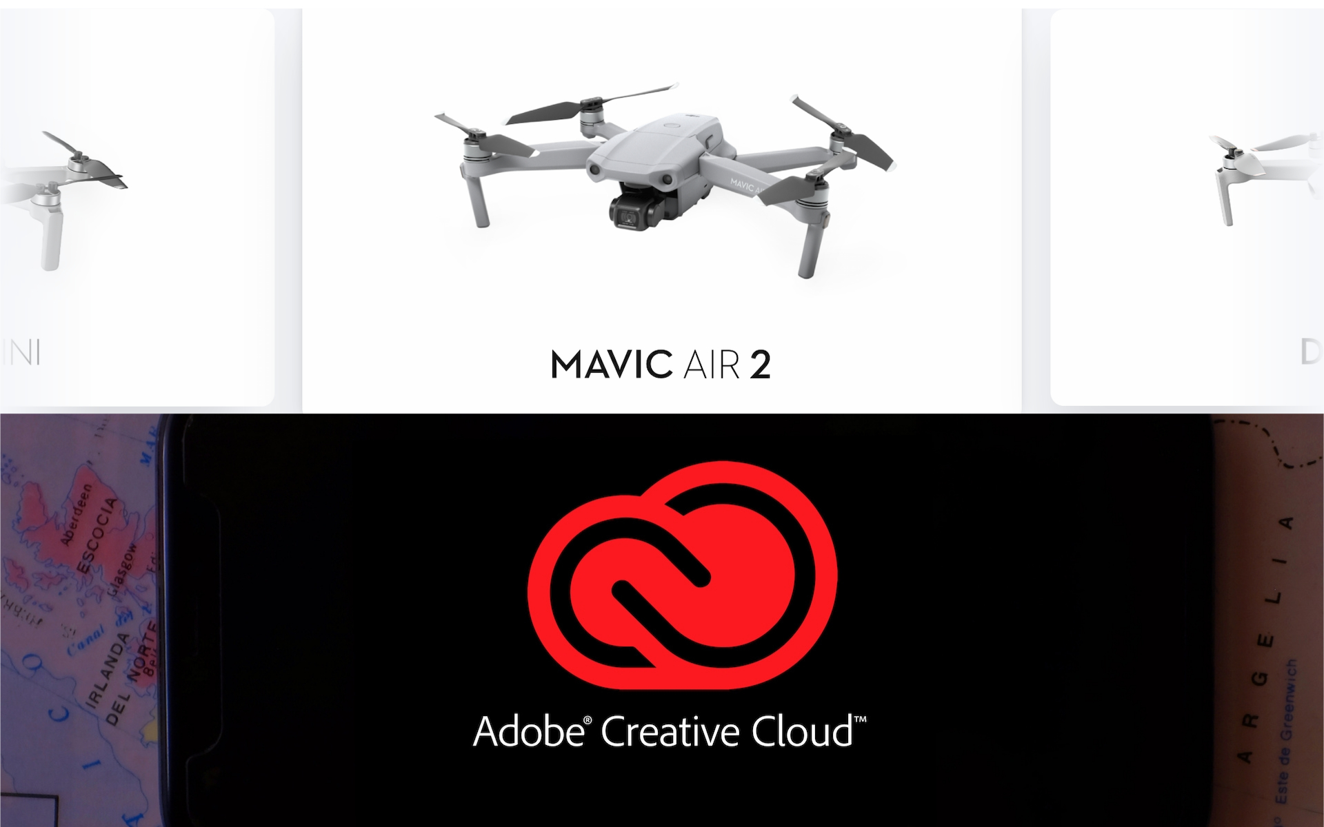 DJI Fly App 更新隱藏驚喜:3 個月免費 Adobe Creative Cloud 試用