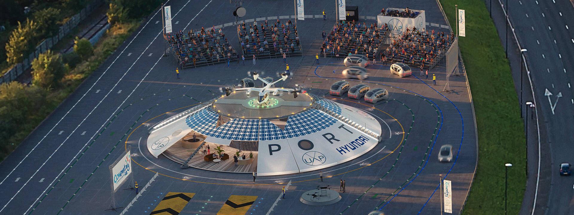 首個電動城市空港落戶英國考文垂 推動無人機運輸發展