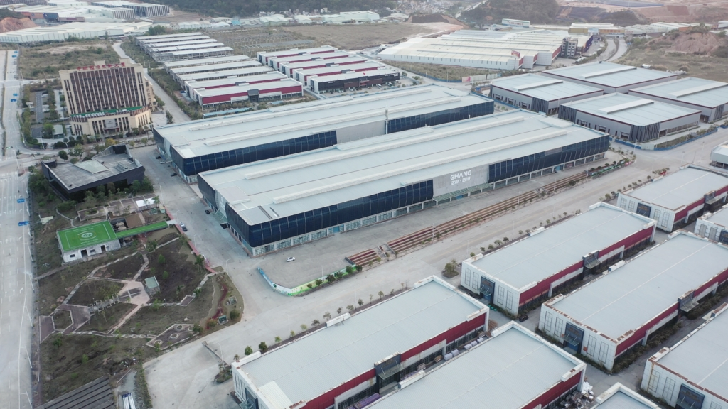 億航被做空機構狙擊後反擊 公開建設中雲浮新工廠影片及相片