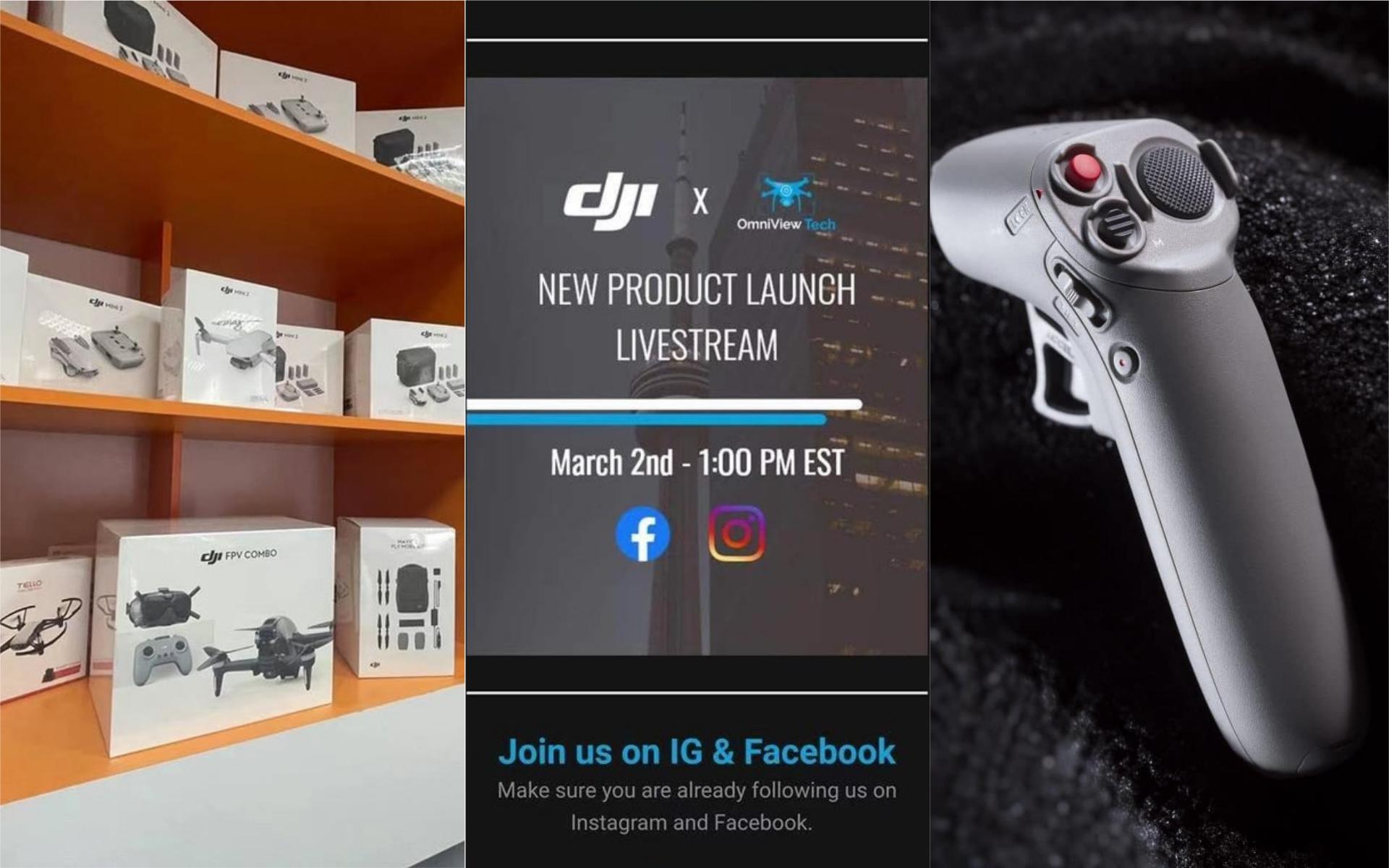 更多 DJI FPV 無人機照片及開箱影片流出 甚至已在分銷商店上架?