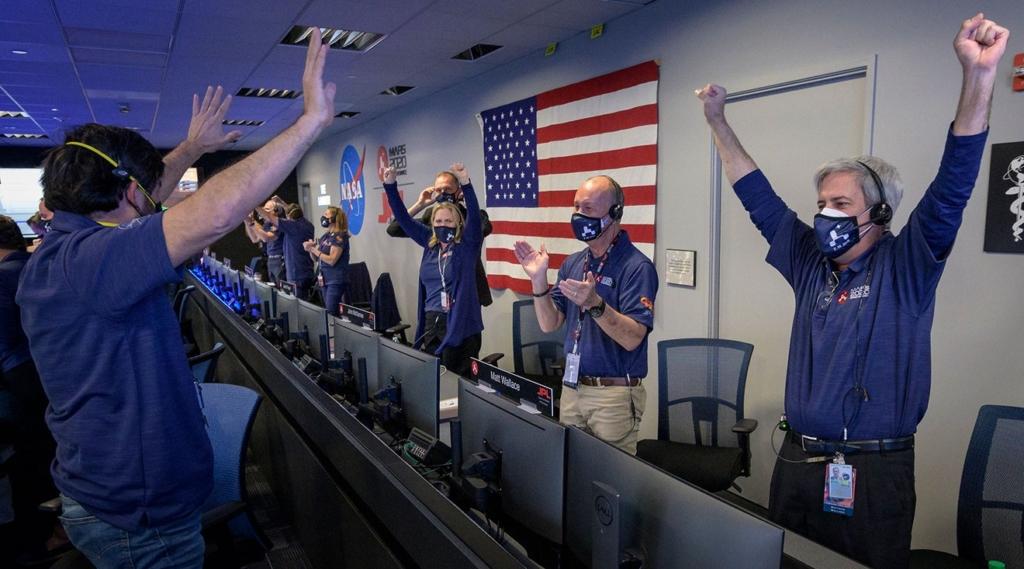 無人機「機智號」隨探測器成功登陸火星 將先進行充電