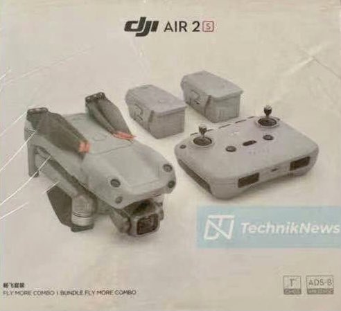 DJI Air 2S 宣導短片及產品照流出 網傳今月 27 日推出