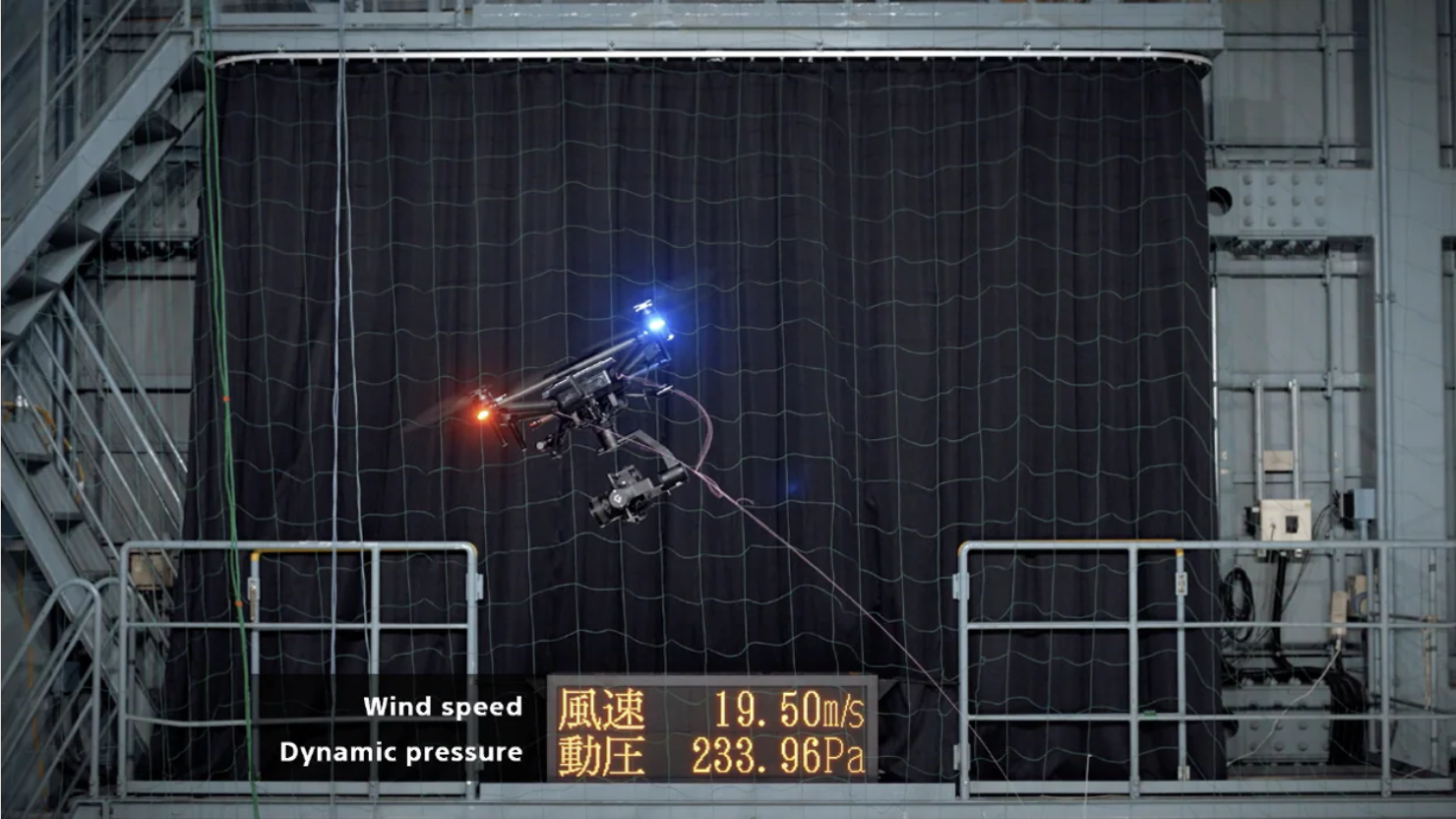 Sony 曝光 Airpeak 無人機風洞測試影片 70km/h 風力下仍可穩定懸停