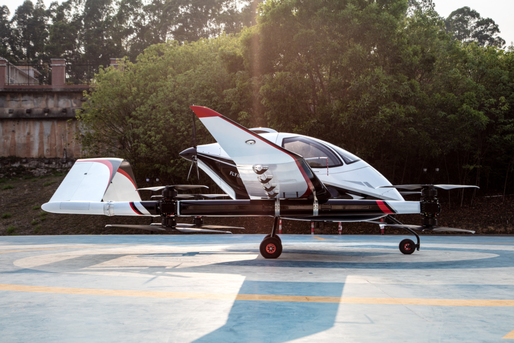 億航推長航距載人自動駕駛飛行器 VT-30 專為城際間空中交通而設