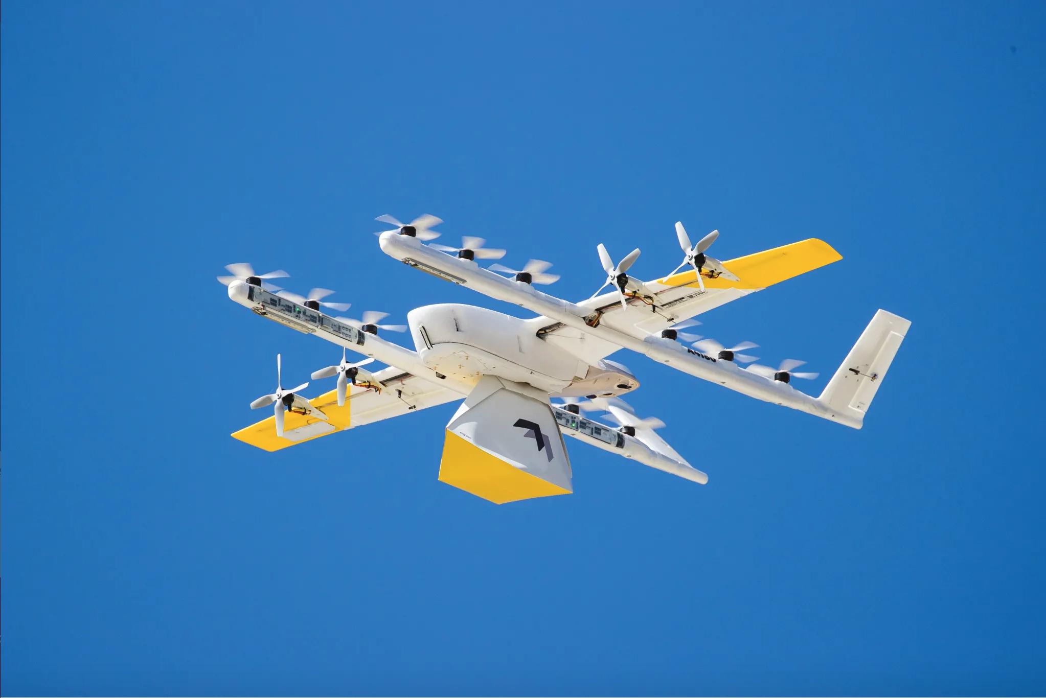 聲浪比行經汽車還要小! Wing 新款低噪無人機飛入洛根新增配送據點