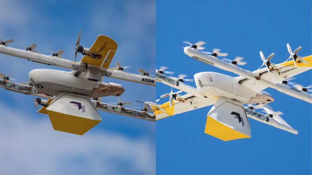 聲浪比行經汽車還要小! Wing 低噪版配送無人機飛入洛根新增據點