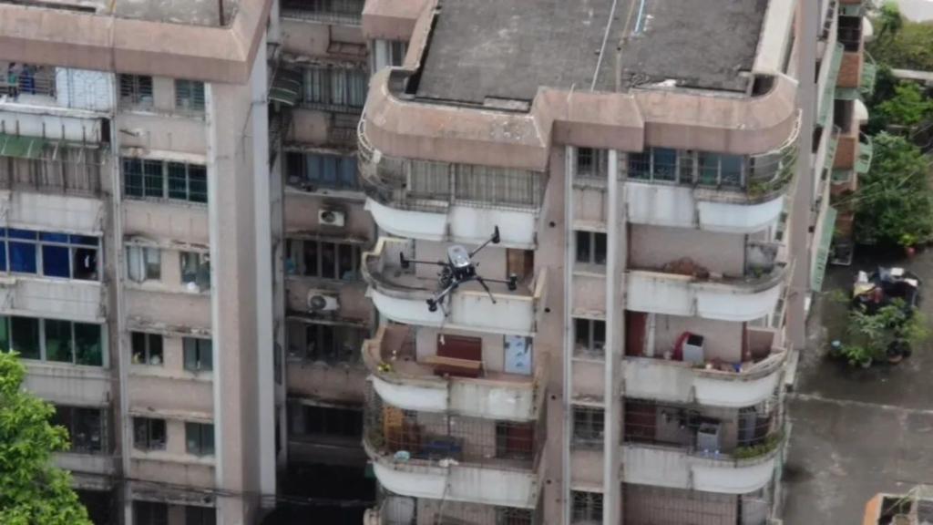 疫情反撲! 廣州警部署 60 無人機巡控 億航開闢空中應急通道