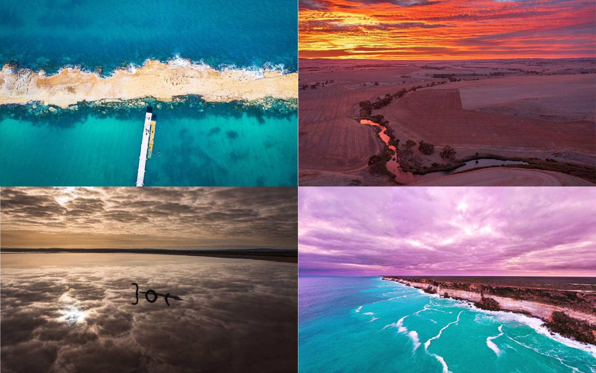 卡車司機航拍南澳絕美納拉伯平原 吸十萬粉絲 樂以自身故事激勵別人