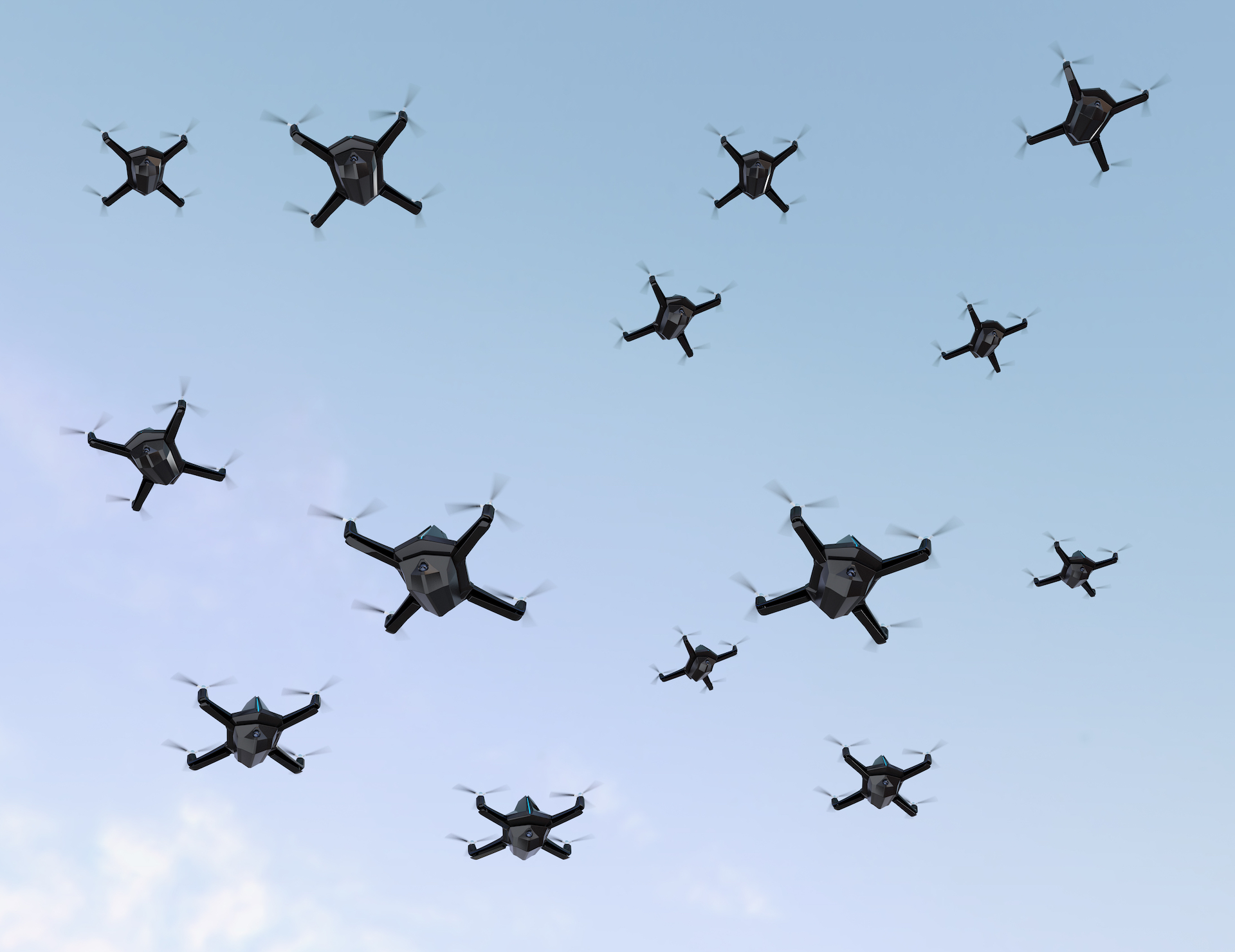 全世界首次! 以色列向哈馬斯武裝分子發動無人機蜂群攻擊