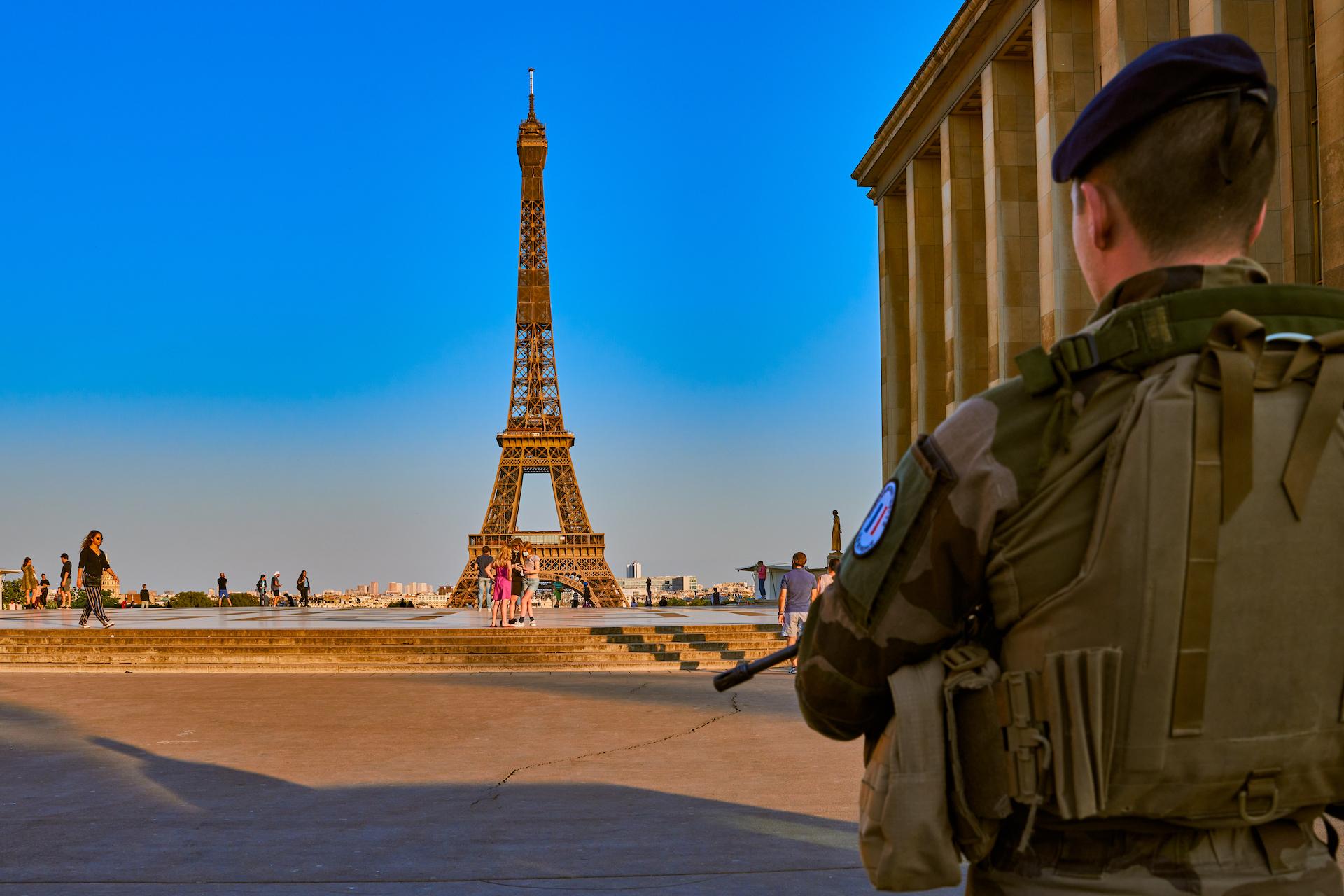 為 2024 巴黎奧運安防準備 法國軍方測試用激光砲摧毀無人機