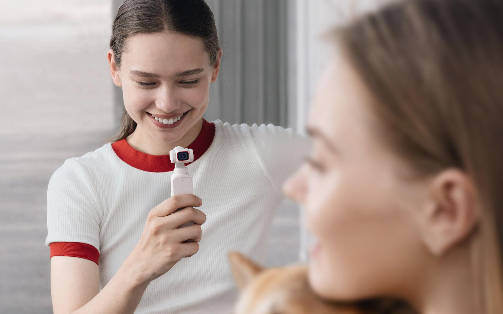 白色控注意! DJI 推 Pocket 2 雲暮白限定套裝 定價 2999 人民幣