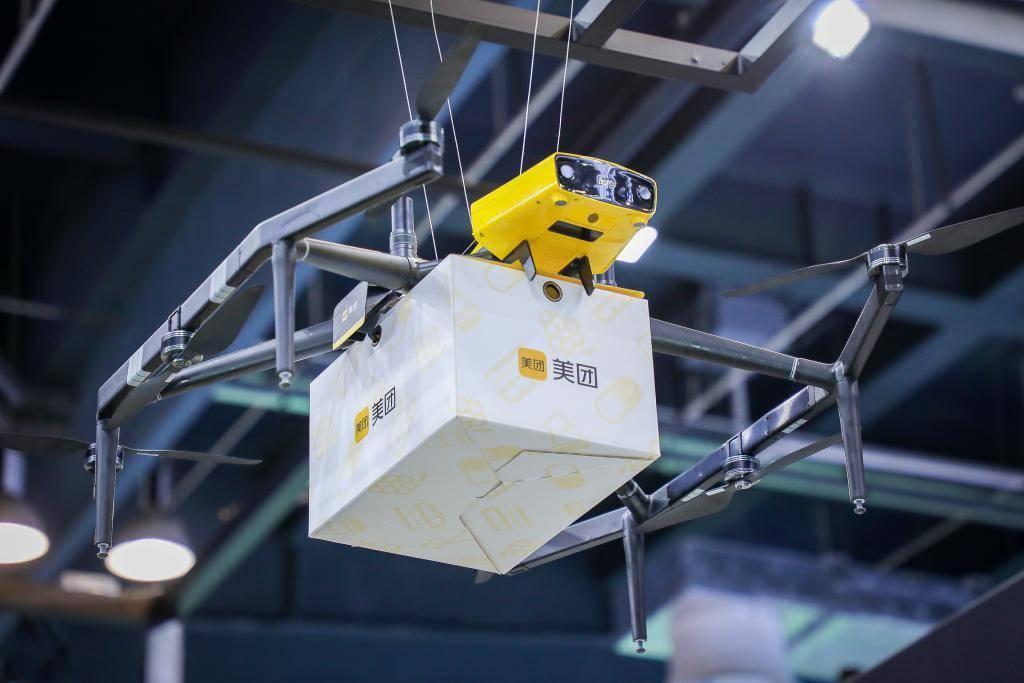 美團攜手深圳 SIC 超級總部中心 打造首個無人機配送商圈試點