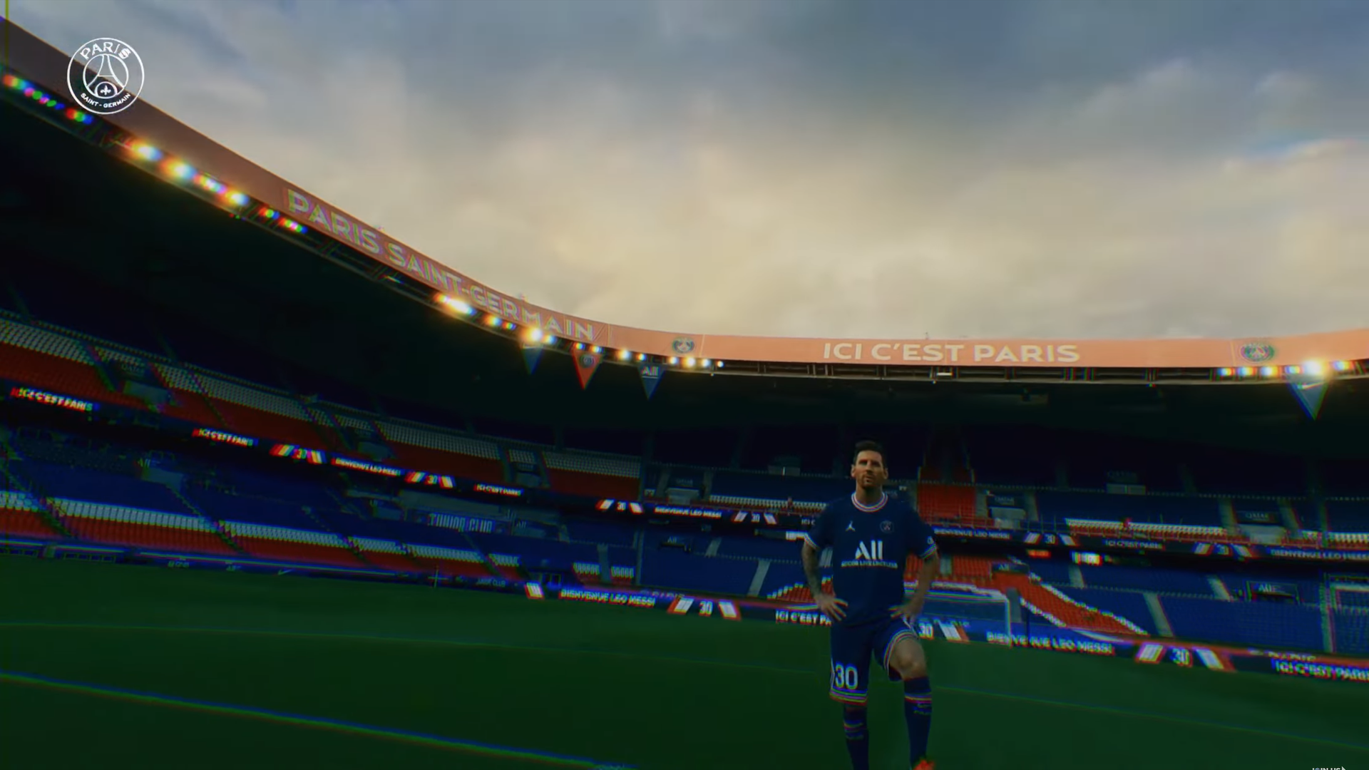 梅西加盟巴黎聖日耳門 球會出動 FPV 無人機拍攝宣佈影片