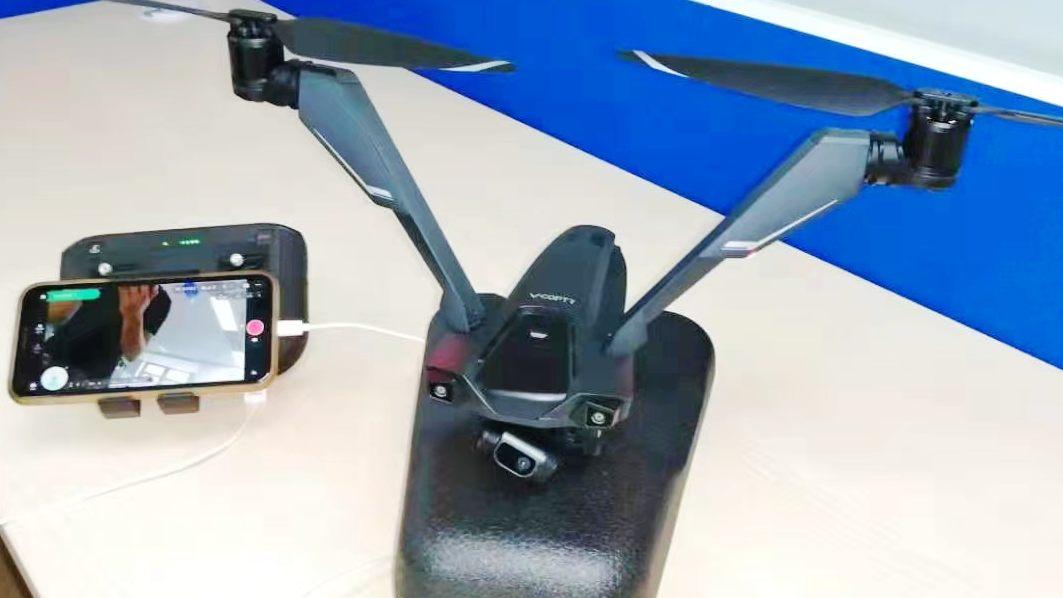 兩軸無人機 V-Coptr Falcon 遲遲未上市 網傳原因與雲台有關