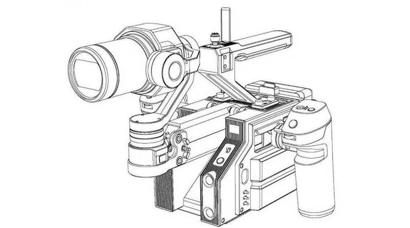 專為 Zenmuse 相機而設 DJI 專業手持裝備專利及實拍照流出