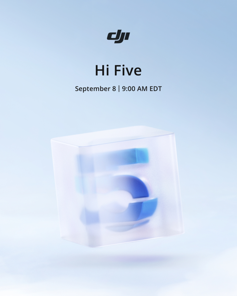 DJI 下周三發佈新品! 主角呼之欲出:集成自拍杆之 OM 5