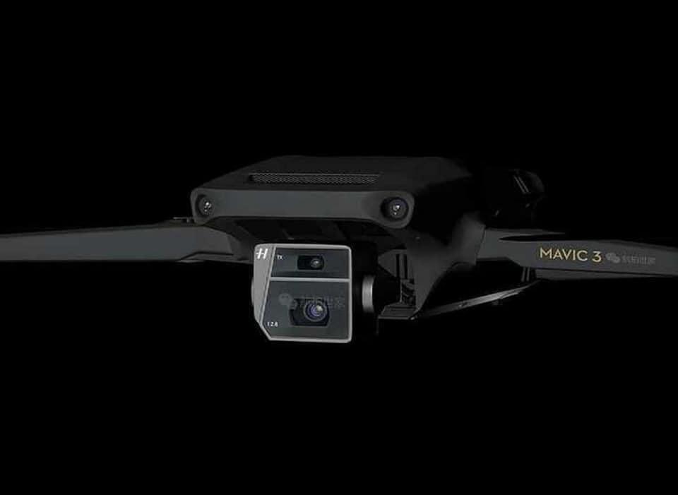 DJI Mavic 3 設計曝光? 網傳多項規格:5.7K 畫質、逾 40 分鐘續航⋯⋯