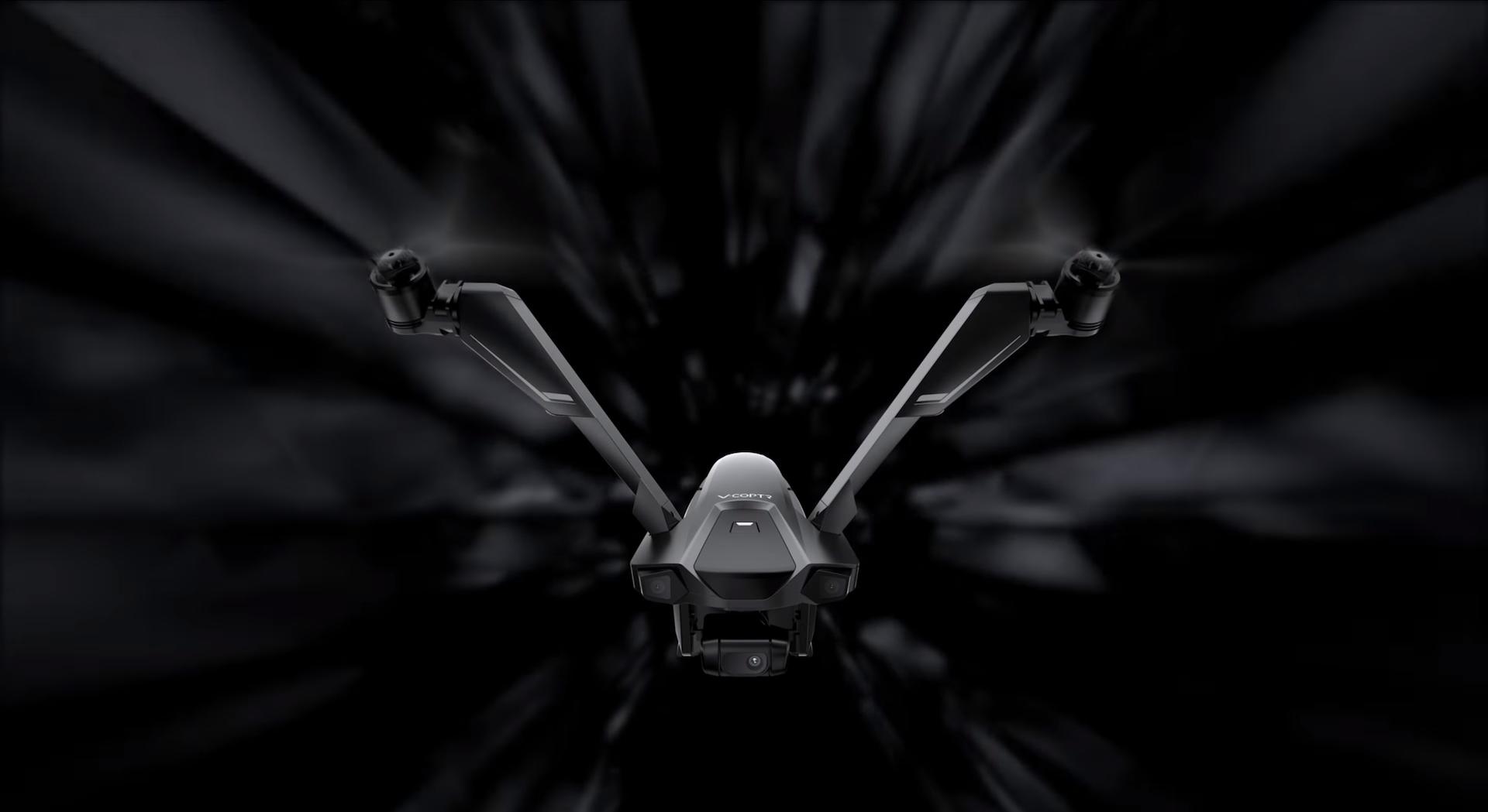 零零科技宣佈發表雙旋翼無人機 V-Coptr Falcon 終於正式開賣