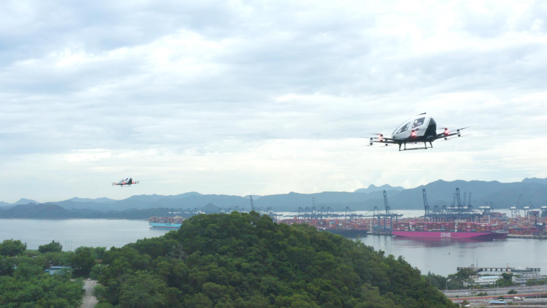 億航與東部通航達成戰略夥伴關係 打造城市融合空域運行試點