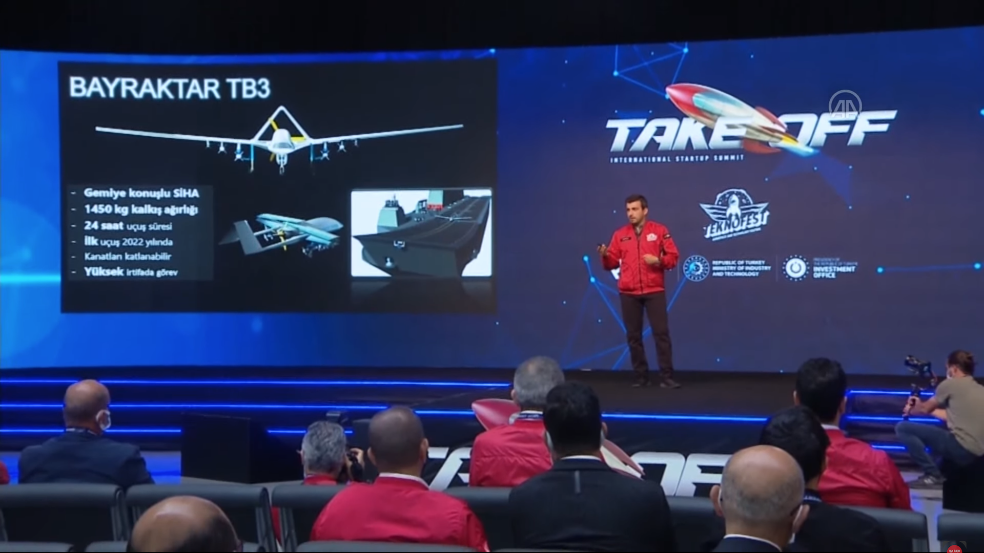 土耳其武裝無人機 Bayraktar TB3 可望明年首飛 航程可達數千公里