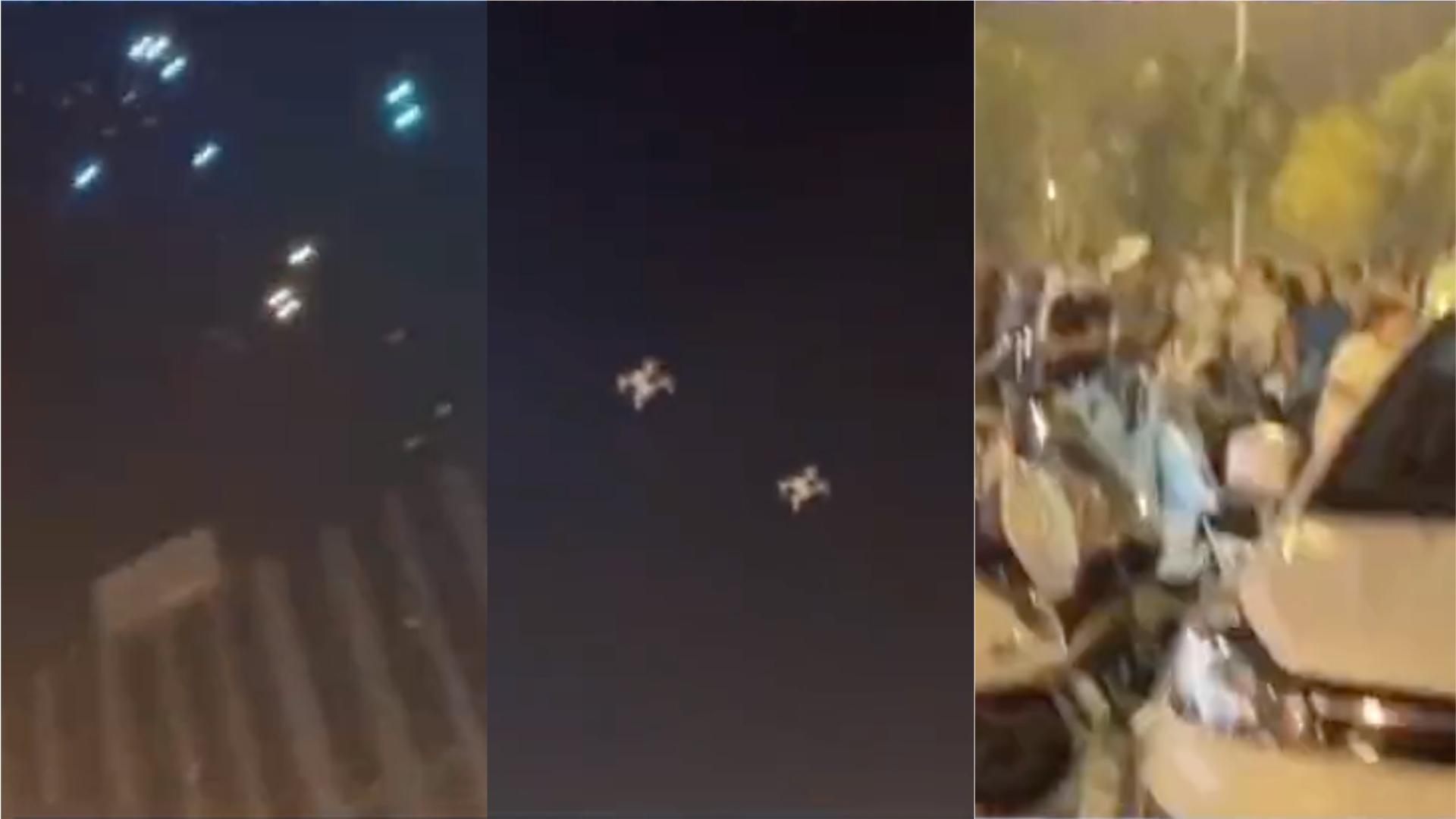 鄭州無人機表演發生墜機意外如「流星雨」 主辦方:被惡意干擾訊號