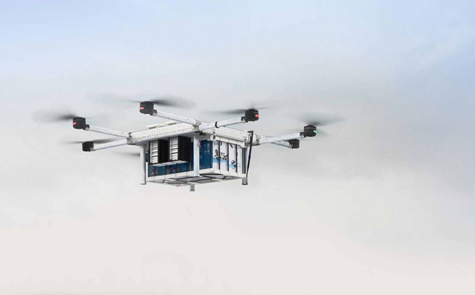 順豐與羅湖醫院合作開通三航線 落實常態化檢驗樣本無人機運輸